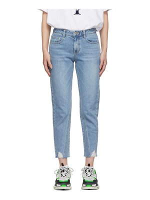 SJYP Destroyed Semi Baggy Jeans