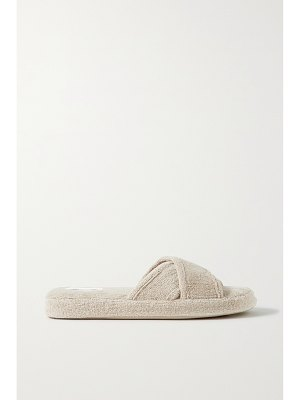 Skin + net sustain the kyoto organic cotton-terry slippers
