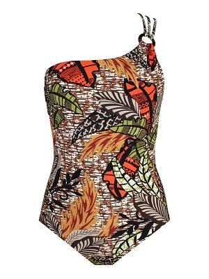 Skinny Dippers wurley one-shoulder one-piece swimsuit