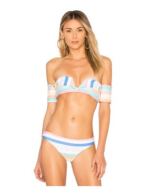 SKYE & staghorn Shoulder Wrap Bikini Top