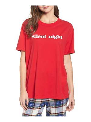 Sleepy Jones silent night tee