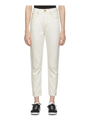 SLVRLAKE off-white beatnik cropped jeans