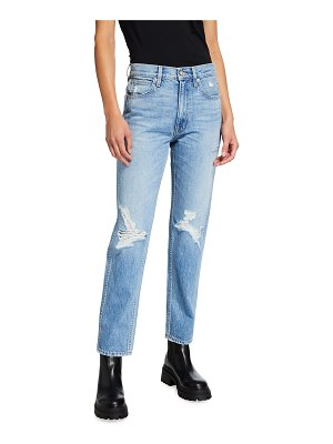 SLVRLAKE Virginia High-Rise Slim Tapered Jeans