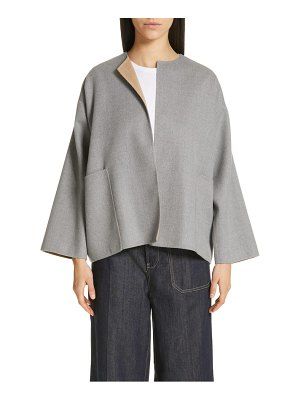 Sofie D'Hoore short reversible wool coat