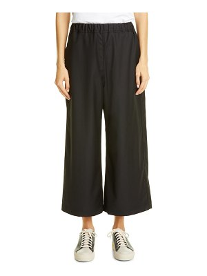 Sofie D'Hoore wool crop wide leg pants