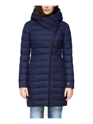 Soia & Kyo hooded down puffer jacket