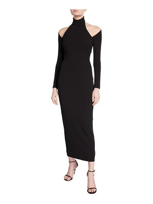 Solace London Grayson Halter Midi Dress