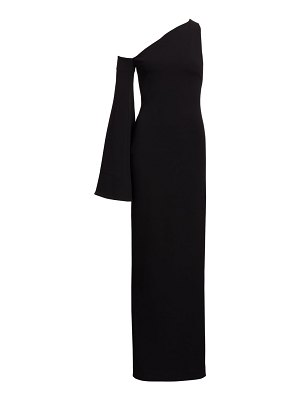 Solace London siara asymmetric maxi dress