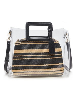 Sole Society avah transparent tote