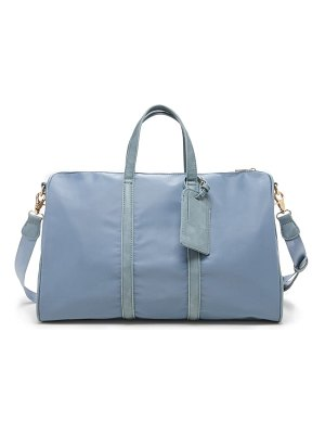 Sole Society cassidy faux leather duffle bag