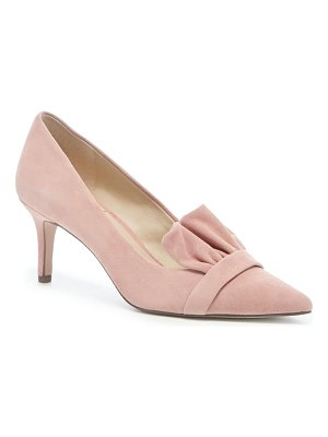 Sole Society darbia ruffle pointy toe pump