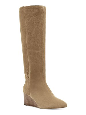 Sole Society deannah knee high wedge boot