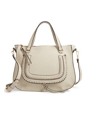 Sole Society destin faux leather satchel