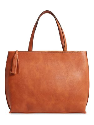 Sole Society faux leather tote