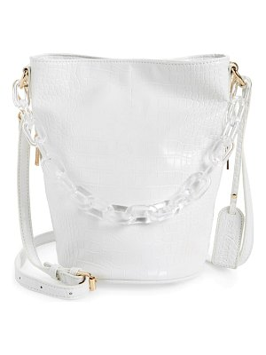 Sole Society fayre faux leather bucket bag
