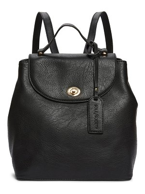 Sole Society georgia faux leather backpack