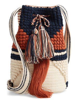 Sole Society halay woven bucket bag