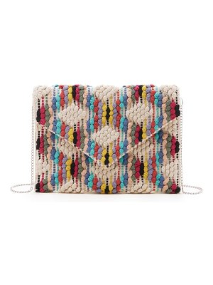 Sole Society jaam woven clutch