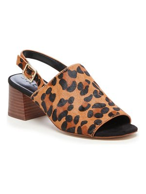 Sole Society shawde genuine calf hair slingback sandal
