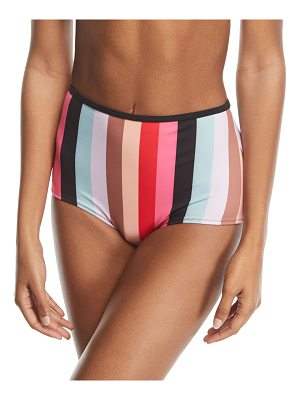 Solid and Striped The Brigitte Malibu Stripe Swim Bikini Bottoms