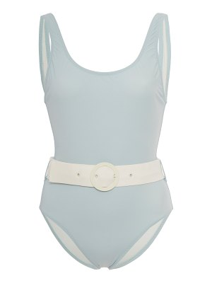 Solid & Striped anne-marie belted swimsuit size: l