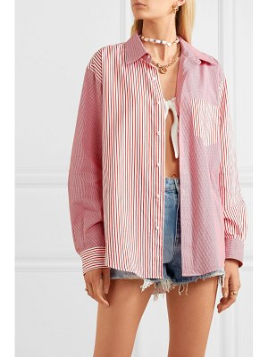 Solid & Striped striped cotton-poplin shirt