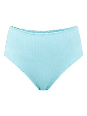 Solid & Striped the beverly high-rise ribbed bikini briefs