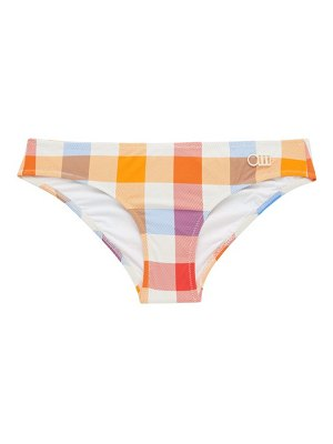 Solid & Striped the elle gingham bikini briefs