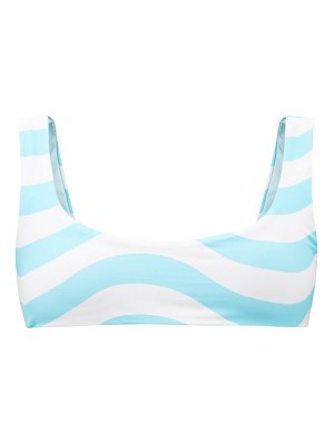 Solid & Striped the elle reversible recycled-fibre bikini top