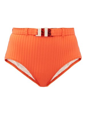 Solid & Striped the ginger high-rise ribbed bikini briefs