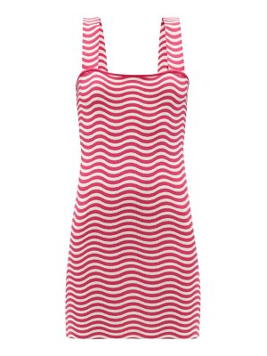 Solid & Striped the ryan striped jersey mini sundress
