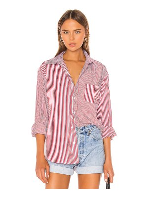 Solid & Striped x re/done oxford button down