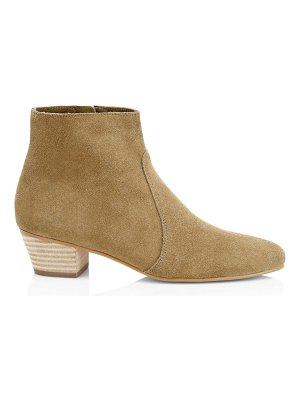 Soludos lola suede ankle boots