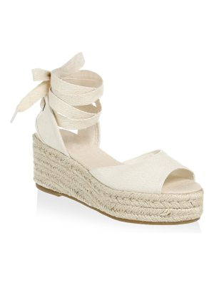 Soludos open toe platform sandals