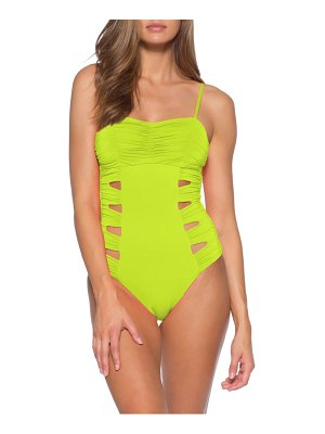 SOLUNA clear skies maillot cutout one-piece swimsuit