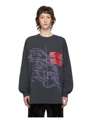 Some Ware grey new logo new body long sleeve t-shirt