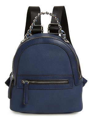 Sondra Roberts faux leather backpack