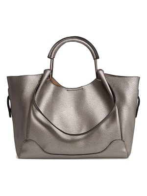 Sondra Roberts faux leather satchel