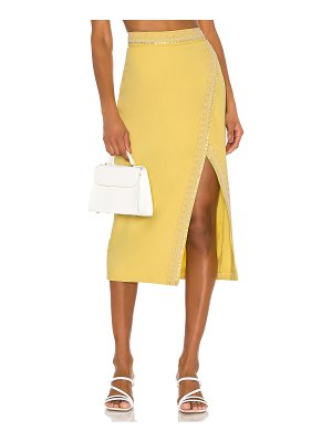 Song of Style bertha midi skirt