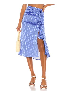 Song of Style delta midi skirt