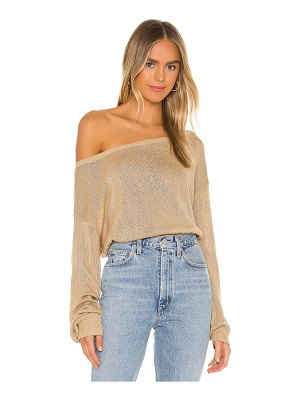 Song of Style jennifer off shoulder sweater
