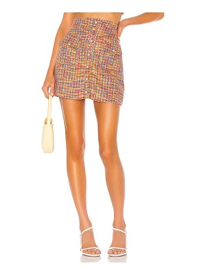 Song of Style lyric mini skirt