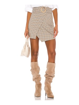 Song of Style milicent mini skirt