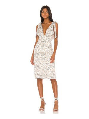 Song of Style odette midi dress