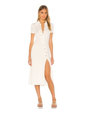 Song of Style polly midi dress