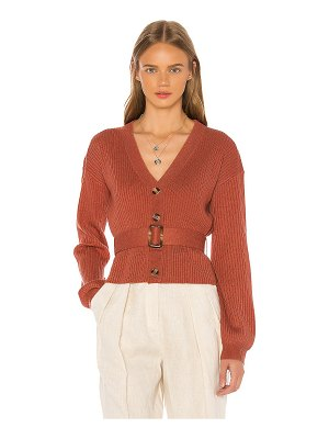 Song of Style romi belted cardigan
