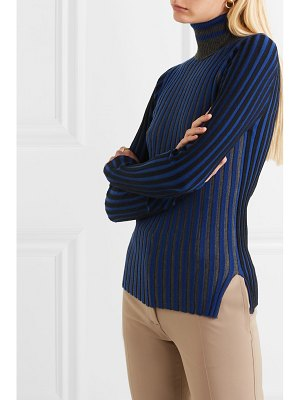 Sonia Rykiel striped cashmere turtleneck sweater