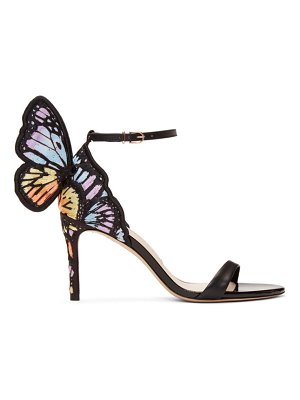 Sophia Webster Chiara Embroidery Mid Sandals