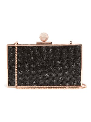 Sophia Webster clara crystal-embellished box bag