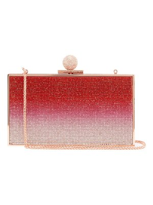Sophia Webster clara ombré crystal-embellished box bag